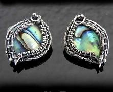 Kolczyki srebrne typu wkręt...