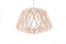 Lampa drewniana sufitowa wi...