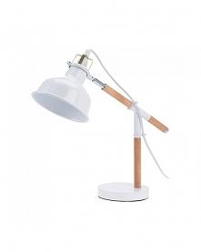 Lampka Biurkowa Retro biała