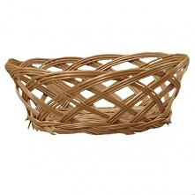 Koszyk z wikliny z ażurowym...