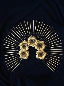 korona jest nowa  róże i ko...