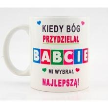 Kubek na dzień babci do zamóienia w naszym sklepie nadruko.pl