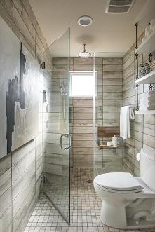 Jasnobrązowa łazienka