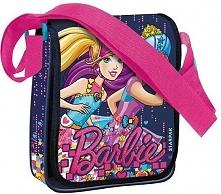 Torebka na ramię Barbie STK 47-37 jeansowo-różowa  (372657)