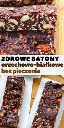 Orzechowo-białkowe batony b...