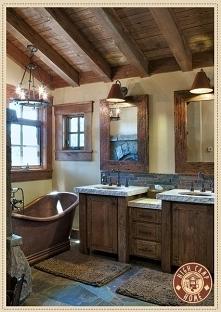 retro łazienka