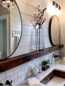 łazienka rustykalna