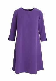 Fioletowa Sukienka Then