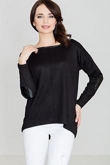 Sweter K118 Czarny
