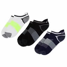 Zestaw 3 par stopek unisex ASICS - Lyte Sock 123458 Peacot 452