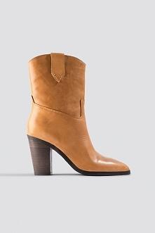 MANGO Texas Ankle Boots - Brown,Orange