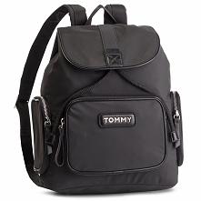 Plecak TOMMY HILFIGER - Varsity Nylon Backpack AW0AW06122 002