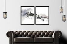 Dwa plakaty - Panorama gór