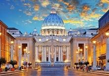 Wieczór w Rzymie, zachód słońca :) Zapraszamy do układania!
