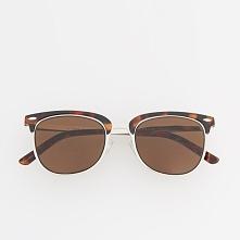Okulary przeciwsłoneczne - Brązowy