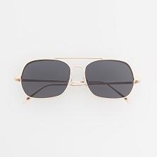 Okulary przeciwsłoneczne - Złoty