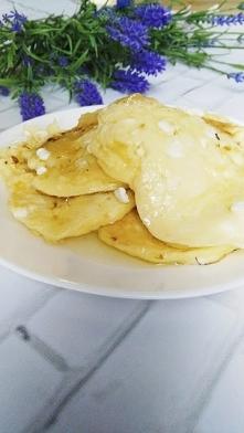 Placuszki z serka wiejskiego - na kolację w sam raz ;)