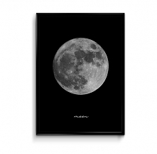 Moon - plakat