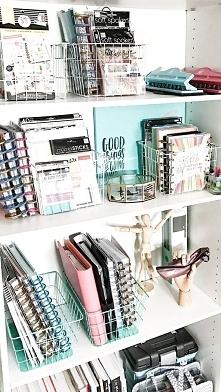 Organizacja w domowym biurze