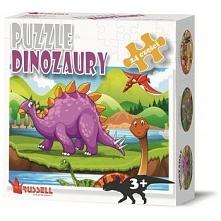 Puzzle Edukacyjne 24 El. Dinozaury