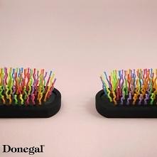 Zabawna szczotka do włosów.  Fun Brush by Donegal