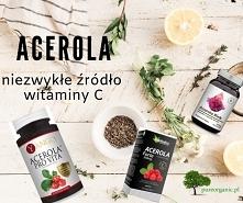 Acerola – niezwykłe źródło witaminy C. Skutecznie wspomaga odporność organizmu Oryginalne połączenie 4 ekstraktów roślinnych o silnym działaniu 300% zapotrzebowania na witaminę ...