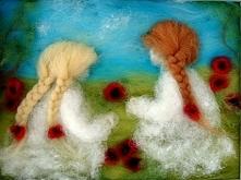 Łąka pełna maków. Obraz z kolekcji Die verzauberte Welt