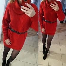 sprzedam nowy długi sweterek, z metki S