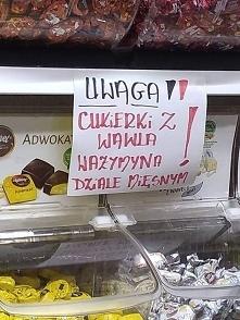 Cukierki z Wawla.