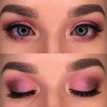 Soft and romantic look