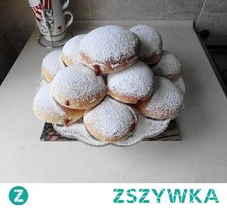 Pączki z piekarnika:-)