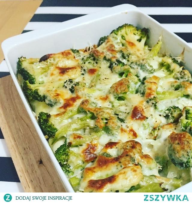 Zapiekanka ziemniaczano-brokułowa