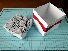 Pudełko na tangle lub prezent