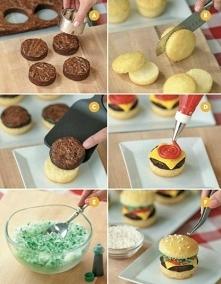 babeczkowe burgerki