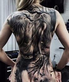 falling angel tattoo