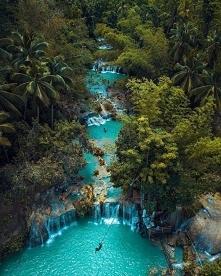Wodospad Cambugahay na Filipinach