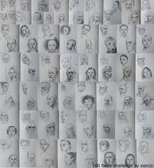 100 portretów w 10 dni jako...
