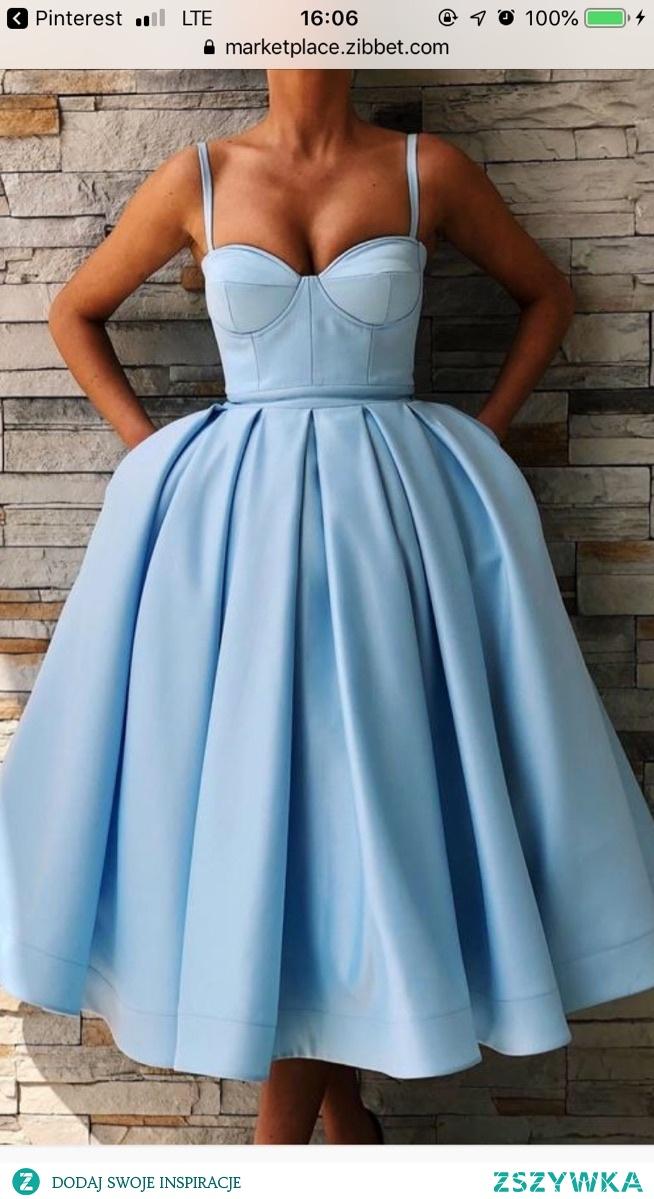 szukam takiej sukienki kolor niekoniecznie niebieski czy możecie polecić jakiś sklep ?
