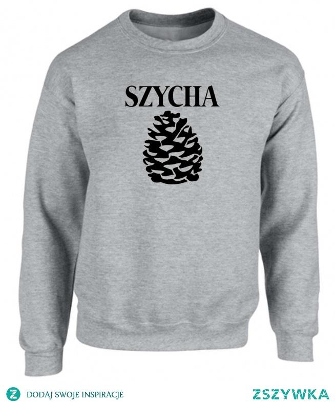 """męska bluza """"SZYCHA"""" akcreativo.shoppy.pl"""