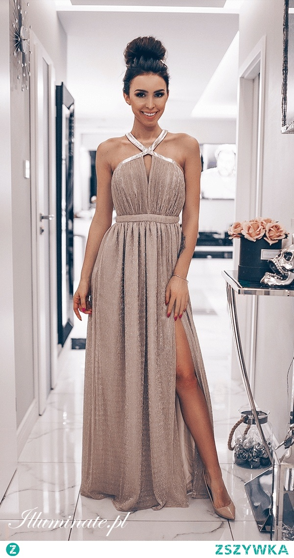 Długa sukienka dla druhny od illuminate.pl <3