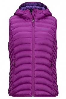 Marmot Wm's Bronco Hooded Vest Purple Orchid S