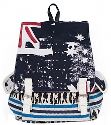 Art Of Polo Damski Plecak Blue, Wielokolorowy tr16371 .2