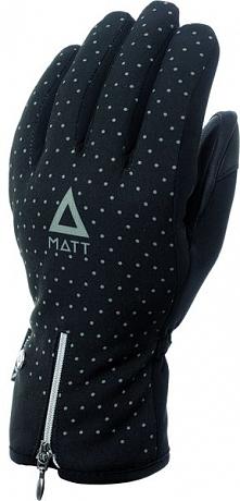 Matt Damskie Rękawice 3202 Girly Gloves, Black, M
