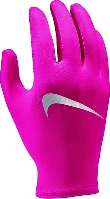 Nike Rękawice Do Biegania Miler Running Glove Rush Pink/Silver S/M
