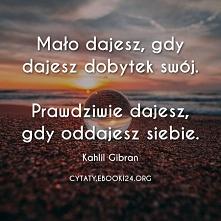 Kahlil Gibran cytat o prawd...