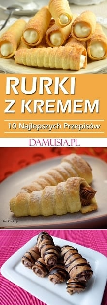 TOP 10 Najlepszych Przepisów na Pyszne Rurki z Kremem