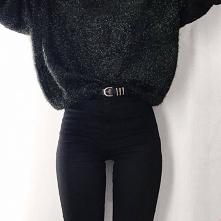 Modne stylizacje z czarnymi spodniami