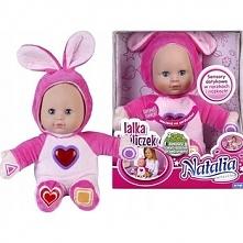 Lalka Natalia króliczek świecące serduszko
