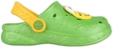 Coqui Klapki Dziecięce Hoppa 9381 Lime 102207 (Rozmiar 26-27)