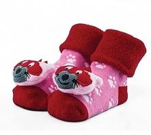 Attractive Skarpetki Dla Dziewczynek Z Lisem 20 - 22 Różowy/Czerwony